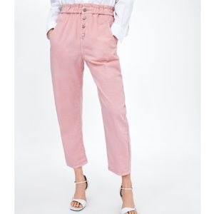 Zara Baggy Pants with Buttons